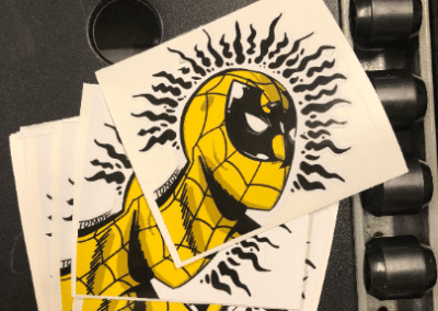 Wu Tang Spiderman Sticker